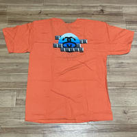 【XL】 Stussy ステューシー 半袖 Matt Mignanelli Tシャツ オレンジ 青ロゴ ストリート SSリンク コットン100% (62)