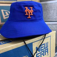 公式クラブハウスモデル NEWERA ニューエラ NY ニューヨーク Mets メッツ BUCKET バケットハット USA正規品