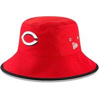 HEX ニューエラ NEWERA シンシナティ Reds レッズ 公式 BUCKET バケットハット 赤 フリーサイズ MLB メジャーリーグ