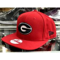 NCAA カレッジエイト Collegiate ジョージア大学 Georgia ブルドッグス Bulldogs ニューエラ NEWERA スナップバック キャップ 9Fifty