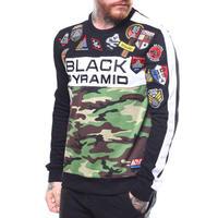 日本未入荷 BLACK PYRAMID ブラックピラミッド Military スウェット トレーナー 迷彩 カモフラージュ ミリタリー パッチ付