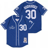 【L】 激レア HeadgearClassics ヘッドギアクラシックス The Sandlot サンドロット/僕らがいた夏 ベースボールシャツ #30 ベニーロドリゲス