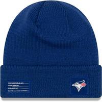 NEWERA ニューエラ MLB ニット帽 メジャーリーグ TOR トロント BlueJays ブルージェイズ 紺 ネイビー USA正規品 カナダ
