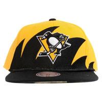 Mitchell&Ness ミッチェル&ネス NHL ピッツバーグ Penguins ペンギンズ 公式 スナップバック キャップ USA正規品 サイズ調節可 アイスホッケー