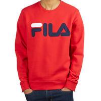 USAモデル FILA フィラ REGOLA クルーネック スウェット トレーナー 赤 レッド USA正規品 パッチ 90年代 オールドスクール