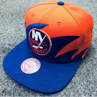Mitchell&Ness ミッチェル&ネス NHL ニューヨーク NY アイランダース Islanders 公式 スナップバック キャップ USA正規品 サイズ調節可 アイスホッケー