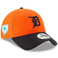 限定 pring TSモデル MLB公式 デトロイト tigers タイガース オレンジ NEWERA ニューエラ 9Twenty ストラップバック キャップ USA正規品