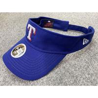 Women サンバイザー NEWERA ニューエラ Rangers テキサス レンジャース MLB メジャー Essential サイズ調節可 紫外線カット USAオフィシャル