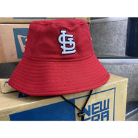 公式クラブハウスモデル NEWERA ニューエラ Cardinals セントルイス カージナルス BUCKET バケットハット USA正規