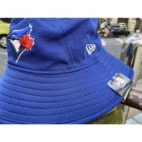 REDUX ニューエラ NEWERA トロント BLUEJAYS ブルージェイズ 公式 BUCKET バケットハット 青 フリーサイズ MLB メジャーリーグ