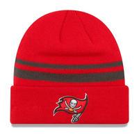 ニューエラ NEWERA ニット帽 タンパベイ Buccaneers バッカニアーズ 海賊 TB 赤 レッド NFL オフィシャル 公式 アメフト