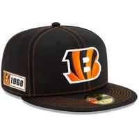 限定 100周年記念モデル NEWERA ニューエラ Bengals シンシナティ ベンガルズ 黒 59Fifty キャップ 帽子 NFL アメフト USA正規品
