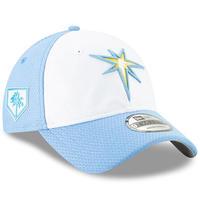 限定 pring TSモデル MLB公式 タンパベイ Rays レイズ 水色/白 NEWERA ニューエラ 9Twenty ストラップバック キャップ USA正規品