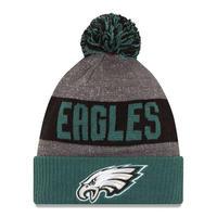 NEWERA ニューエラ Philadelphia フィラデルフィア Eagles イーグルス NFL 公式 ニット帽 ポンポン 公式 ニットキャップ 極暖 フリース アメフト