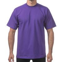 【全国どこでも送料無料】米国製 PROCLUB プロクラブ HEAVY WEIGHT ヘビーウェイト Tシャツ 無地 USA 西海岸 LA 紫 パープル 6.5 OZ  綿100%
