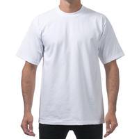 米国製 PROCLUB プロクラブ HEAVY WEIGHT ヘビーウェイト Tシャツ 無地 白 ホワイト 6.5 OZ  綿100%