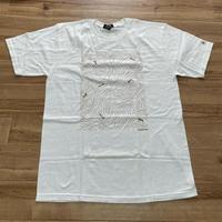 【M】 激レア Stussy ステューシー incose インコース 半袖 ダブルネーム Tシャツ 白 ContourLineMap 綿100% ストリート (4)