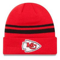 ニューエラ NEWERA ニット帽 カンザスシティ Chiefs チーフス KC 赤 レッド NFL オフィシャル 公式 アメフト