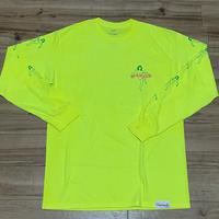 USA製 【M】 Diamond Supply Co. ダイヤモンドサプライ 長袖 Tシャツ Neon ネオンイエロー 蛍光 ロンT (LT9)