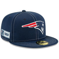 限定 100周年記念モデル NEWERA ニューエラ PATRIOTS ペイトリオッツ 紺 59Fifty キャップ 帽子 NFL アメフト USA正規品 紺