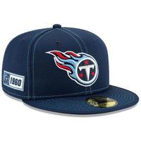 限定 100周年記念モデル NEWERA ニューエラ TITANS ネテシス タイタンズ 紺 59Fifty キャップ 帽子 NFL アメフト USA正規品 公式
