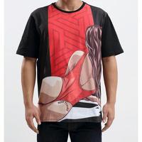 日本未入荷 BLACK PYRAMID ブラックピラミッド BeachHum グラフィック Tシャツ 半袖 ブラック 黒