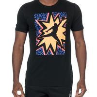 USAモデル 限定 1点のみ 【M】 NIKE ナイキ JORDAN ジョーダン BOOM POW ZAP Tシャツ バスケットボール ジャンプマン 黒 ブラック 綿100%