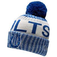 NEWERA ニューエラ COLTS インディアナポリス コルツ 公式 ニットキャップ ニット帽 フリース NFL アメフト ポンポン