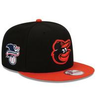 USA正規品 ニューエラ NEWERA  ボルチモア Orioles オリオールズ MLB スナップバック 9Fifty 調節可 キャップ Baycik メジャー 2トーン