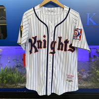 激レア Headgear Classics ヘッドギアクラシックス NY ニューヨーク Knight ナイツ  ベースボールシャツ 野球 ユニフォーム  ロイ・ハブス 背番号9