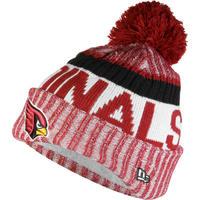 NEWERA ニューエラ CARDINALS アリゾナ カージナルス 公式 ニットキャップ ニット帽 フリース NFL アメフト ポンポン