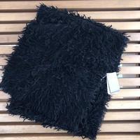 カシミアストール 35×170cm   Black