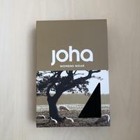 joha ウールレギンス col/ブラック M