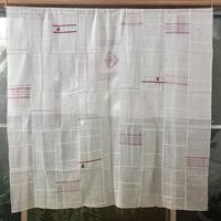 コットンサリーパッチワーク多目的布 赤