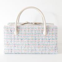 利休バッグ  / MALHIA KENT tweed fabric /R_1059