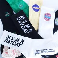 MSMR×DAYDAY socks