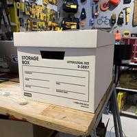 ULINE HEAVY DUTY FILE BOX ヘビーデューティーファイルボックス