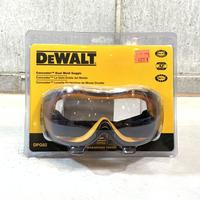 DEWALT デウォルト Dual Mold Goggle ゴーグル クリアー