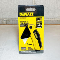 DEWALT デウォルト Folding Fixed Bkade Knife