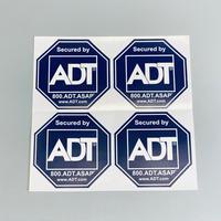 ADT Security セキュリティーステッカー