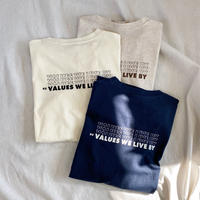 """VALUES"" Tshirt"