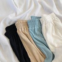 シャーリングRelax Pants
