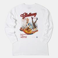 GLUTTONY  LONG T-shirt【WHITE】