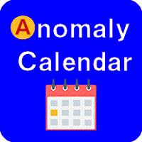 【3111】オーミケンシ アノマリーカレンダーセット(1日~7日用)