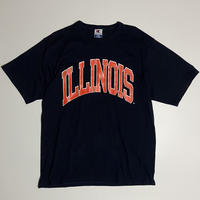 "Champion ""ILLINOIS"" / size L / color : navy"