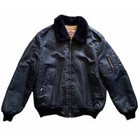 "90s Dickies ""Fight nylon boa jacket""  / size L / made in USA"