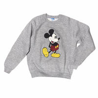 Mickey Mouse raglan sleeve sweat / size L / made in USA