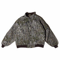 """""""REAL TREE""""camouflage quilting jacket / size L / made in USA"""