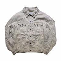 L.L.Bean trucker jacket  / size L / color:cream