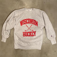 "Champion reverse weave ""WISCONSIN HOCKEY"" / size L / made in MEXICO"